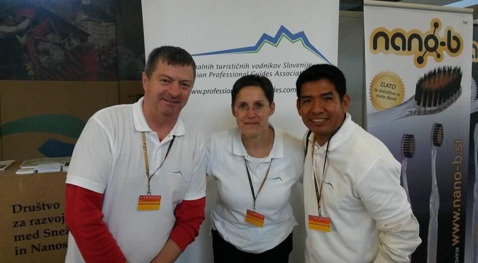Klub profesionalnih turističnih vodnikov Slovenije  je sodeloval na sejmu Narava zdravje
